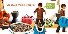 LEGOが散らからないように収納できる『Swoop Bags』