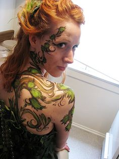 Great body painting