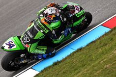 2012 Supersport World Champion with Kawasaki Lorenzini