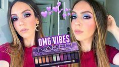 YouTube Beauty Makeup, Hair Makeup, Hair Beauty, Drugstore Beauty, Beauty Stuff, Urban Decay Palette, Eye Makeup Steps, Face Facial, Makeup Designs