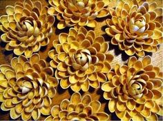 Zjawiskowe kwiaty  z łupinek po pistacjach - będziesz zaskoczona efektem końcowym!