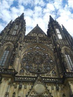 katedrála sv. Víta, St. Vitus cathedral, Prague, Czech republic
