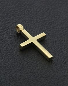 Σταυρός χρυσός Κ14 Boy Baptism, Christening, Gold Pendant, Cross Pendant, My Boyfriend, Metal Working, Cross Necklaces, Jewelry Design, Wedding Rings
