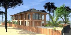 MCC Etudes est un cabinet d'architecture spécialisé dans les constructions de prestige sur le Bassin d'Arcachon, maison traditionnelle, cabane ostréicole ou sur pilotis.