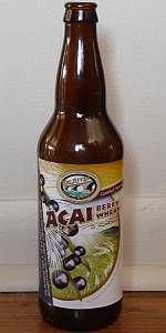 Acai Berry Wheat (4.00%): Eel River Brewing wheat beer with added acai.  This is another of Christie's favorites and is a great summer beer.  Less sweet than the tangerine wheat.