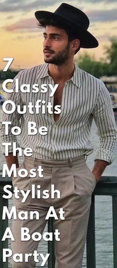 085f4756ce21 7 Best Boat party outfit images | Man style, Men clothes, Men's ...
