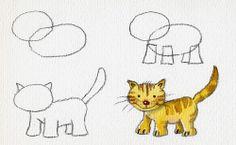 Com dibuixar un gatet