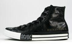AC/DC Converse - Back in Black