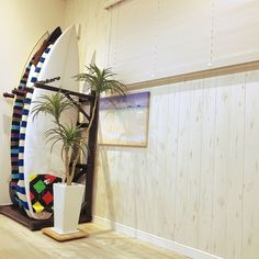 サーフボードのある部屋/サーフスタイル/サーフィン/surf/サーファーズハウス…などのインテリア実例 - 2017-07-04 14:00:44   RoomClip(ルームクリップ)