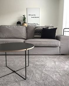 Mixrack table looking good in 's living room 👌🔝 Design: Tapio Anttila. Nordic Lights, Living Room Inspiration, Finland, Living Room Designs, Showroom, Love Seat, Couch, Interior Design, Tables