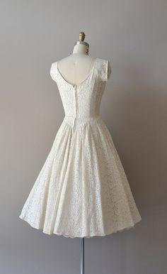 r e s e r v e d...lace 50s wedding dress / 1950s by DearGolden
