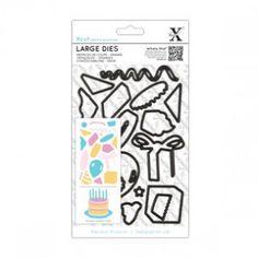 Large Dies (19pcs) - Birthday Party