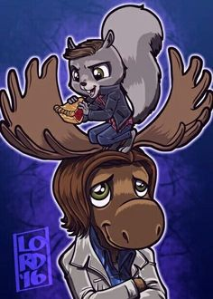 Lord Mesa  supernatural moose & squirrel
