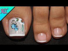 Pedicure, Nail Designs, Nail Art, Nails, Amanda, Beauty, Youtube, Castor Oil, Designed Nails