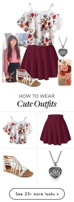 """Amelia's rp outfit"" by thespian-at-large on Polyvore featuring Casetify"
