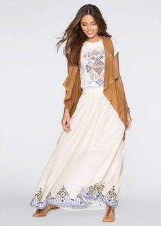 Quem aqui usaria ?  Essa saia longa tem na minha loja confira! http://imaginariodamulher.com.br/produto/saia-longa-com-fenda-bege/
