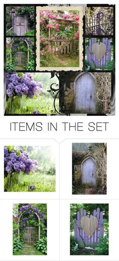 """""""Welcome to My Garden"""" by enchanticals ❤ liked on Polyvore featuring art"""