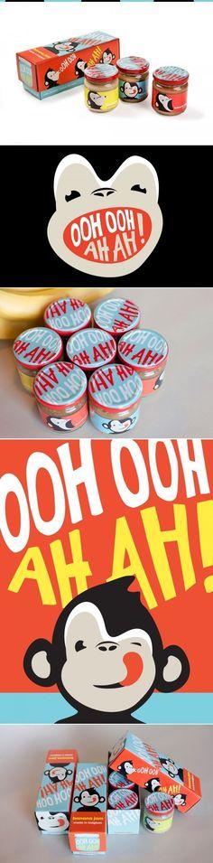 OOH OOH AH AH Brand Baby Food Packaging by Peck Compnay