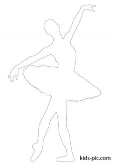 Ballerina Drawing, Ballerina Painting, How To Draw Ballerina, Paper Snowflake Patterns, Paper Cutting Patterns, Ballerina Coloring Pages, Color Wheel Projects, Ballerina Silhouette, Black Paper Drawing