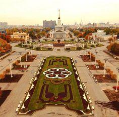 Москва, ВДНХ, осень