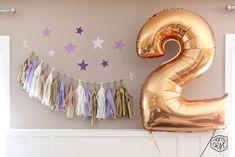 Twinkle Twinkle Little Star Inspired Birthday Party via momsbestnetwork.com