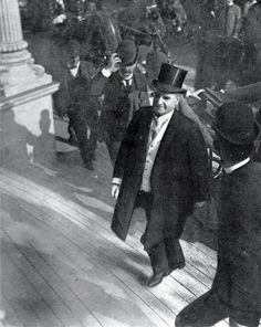 The last photograph taken of the 25th president of the United States William McKinley just minutes before he was shot on September 6th, 1901. He died from the gunshot wound 8 days later. His death prompted the creation of the Secret Service to protect the president at all times.