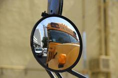 Miami yellow bus Fixed Lens, Miami, Yellow