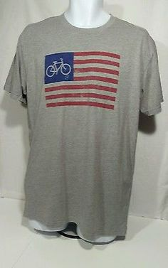 Cheer Shirt Design Ideas the cheer starts here The Pedal Pushers Club Tshirt Large American Flag Bicycle