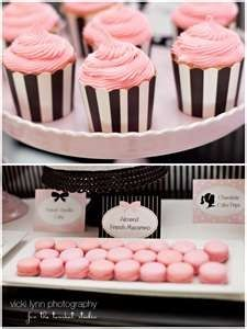 pink and black graduation-party-ideas