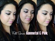 Fall Series: Gunmetal & Pink