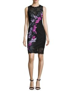 Lace dress neiman marcus routing