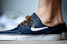 Nike SB Janoski sneakers... limited edition in leather