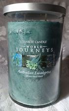 Australian Eucalyptus  (22oz large tumbler) Yankee Candle World Journeys Collection