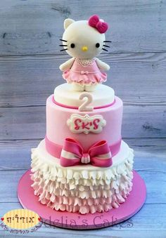 Beautiful kitty cake