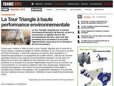 La Tour Triangle à haute performance environnementale #BTP http://tour-triangle-paris.com/performance-environnementale-tour-triangle/