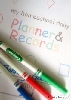 Homeschool Planning Made Easy [Sponsored by My Color Coded Homeschool Planner] - #homeschooling #giveaway #sponsored