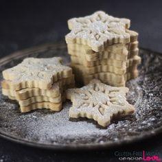 Gluten-Free Vegan Vanilla Cut-Out Cookies Recipe {Refined Sugar-Free}