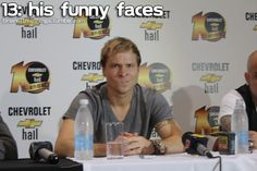 Brian Littrell - His funny faces.