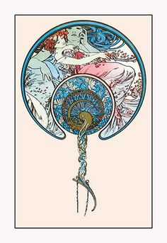 The Passing Wind Takes Youth Away by Alphonse Mucha -#Art Print #AlphonseMucha #ArtandArtists #posters https://postercrazed.com/product/the-passing-wind-takes-youth-away-by-alphonse-mucha-art-print/