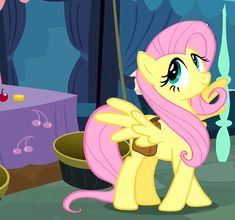What a flirt Fluttershy Fluttershy, Mlp Pony, Pony Pony, Popee The Performer, Mlp Characters, Little Poney, Animated Cartoons, My Little Pony Friendship, Cartoon Pics