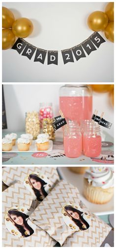 These graduation party ideas will help inspire your decorations, treats, announcements and more! #graduation