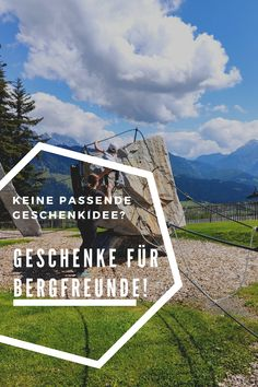 #Geschenkideen für #Outdoor-Fans und #Bergliebhaber. Mal etwas anderes als höher, weiter, teurer... Strahlende Gesichter sind doch viel mehr Wert als teure Geschenke, die meist gleich wieder in Vergessenheit geraten. #AlpinCommunity #Geschenke # Geschenkidee #Bergfreunde