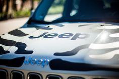 Jeep Renegade zebra  www.voyagerclub.pl