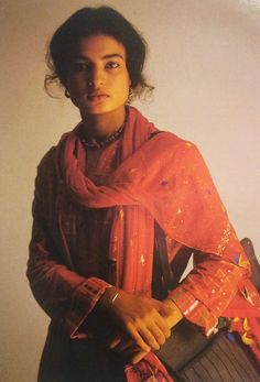 """vintageindianclothing: """"""""India of the 80s is symbolized by computers and…"""