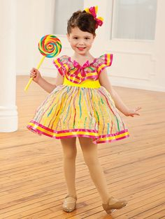 Lollipops & Gummi Bears - Style 0183   Revolution Dancewear Children's Dance Recital Costume