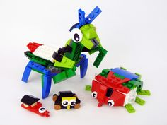 Mantis, Rhino Bug and Vermin - My Own LEGO 31031 Alternate