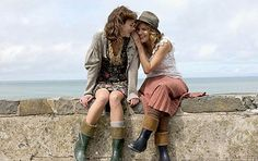 Keira Knightley and Sienna Miller in The Edge Of Love - filmed in Lampeter and New Quay, Ceredigion
