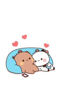 Cute Panda Wallpaper, Bear Wallpaper, Kawaii Wallpaper, Wallpaper Iphone Cute, Cute Bear Drawings, Cute Cartoon Drawings, Cute Kawaii Drawings, Cute Cartoon Images, Cute Cartoon Wallpapers