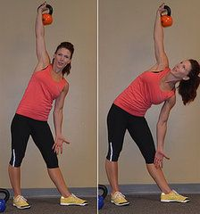how to work with a 60 lb kettlebell