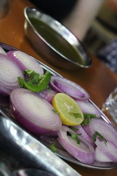 Onions before dinner, Chandigarh, India Chandigarh, Fresh Rolls, India, Dinner, Vegetables, Onions, Ethnic Recipes, Travel, Food